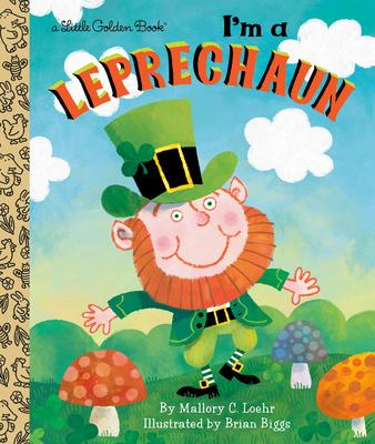 I'm a Leprechaun (Little Golden Book) Cover Image