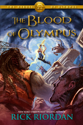 Heroes of Olympus, The, Book Five The Blood of Olympus (The Heroes of Olympus #5) Cover Image
