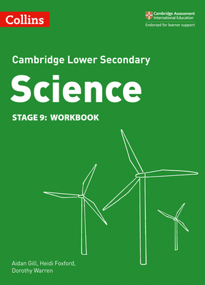 Cambridge Checkpoint Science Workbook Stage 9 (Collins Cambridge Checkpoint Science) Cover Image