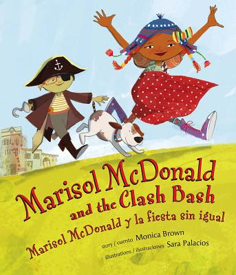 Marisol McDonald and the Clash Bash Cover