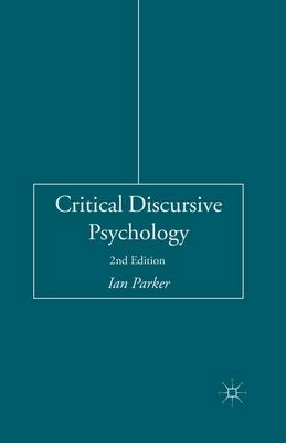 Critical Discursive Psychology Cover Image