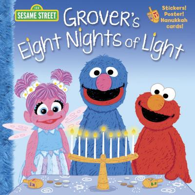 Grover's Eight Nights of Light (Sesame Street) (Pictureback(R)) Cover Image