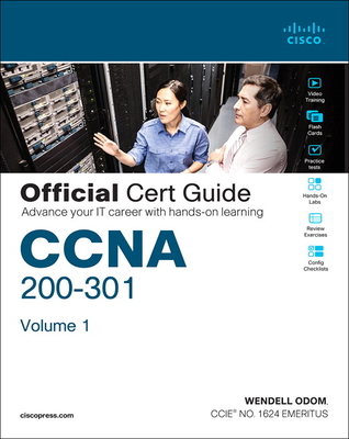 CCNA 200-301 Official Cert Guide, Volume 1 Cover Image