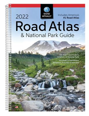 2022 National Park Atlas & Guide Cover Image
