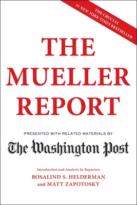 The Mueller Report book cover