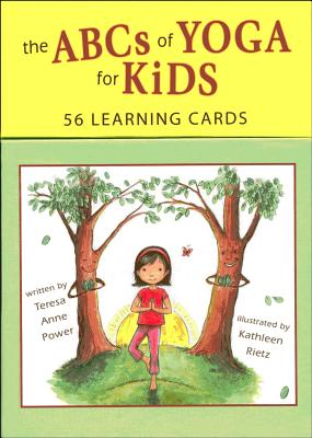ABCs of Yoga for Kids: 56 Learning Cards Cover Image