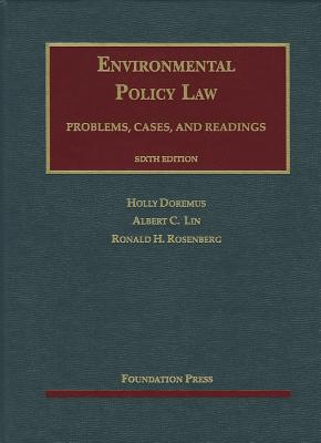 Environmental Policy Law: Problems, Cases, and Readings Cover Image