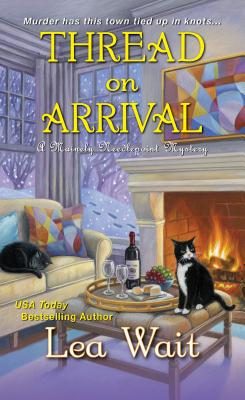 Thread on Arrival (A Mainely Needlepoint Mystery #8) Cover Image