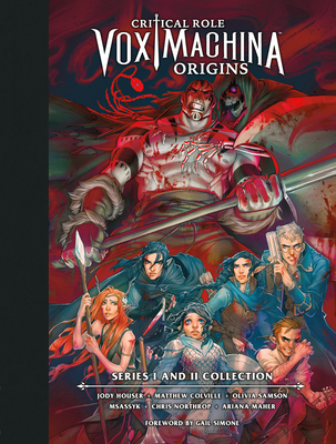 Critical Role: Vox Machina Origins Library Edition: Series I & II Collection Cover Image