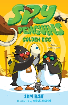 Spy Penguins: Golden Egg Cover Image