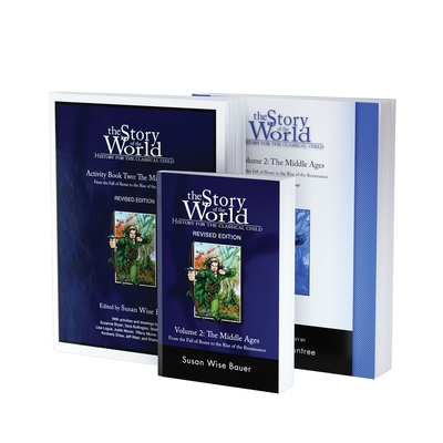 Story of the World, Vol. 2 Bundle: History for the Classical Child: The Middle Ages; Text, Activity Book, and Test & Answer Key Cover Image