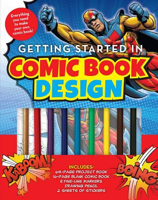 Getting Started in Comic Book Design Cover Image
