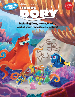 Learn to Draw Disney Pixar's Finding Dory: Including Dory, Nemo, Marlin, and all your favorite characters! (Licensed Learn to Draw) Cover Image