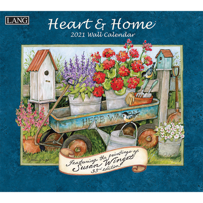 Heart & Home(r) 2021 Wall Calendar Cover Image