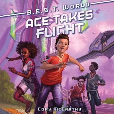 Ace Takes Flight Lib/E Cover Image