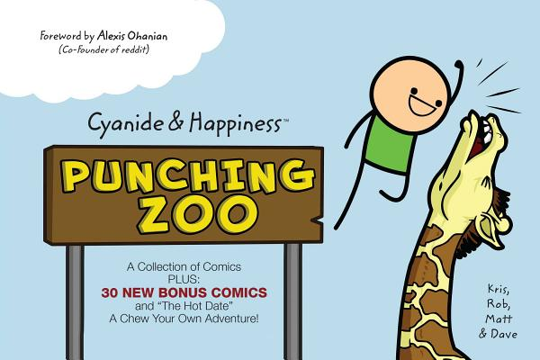 Cyanide and Happiness: Punching Zoo Cover Image
