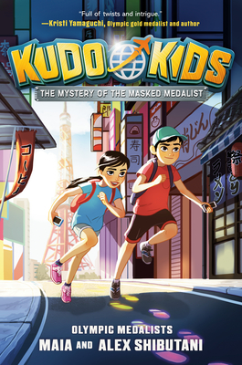 The Mystery of the Masked Medalist (Kudo Kids #1) Cover Image