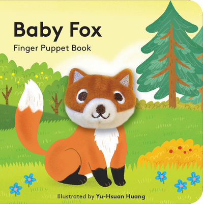 Baby Fox: Finger Puppet Book Cover Image