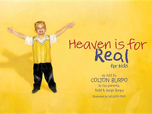 Heaven Is for Real for Kids Cover