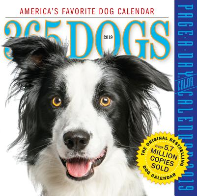 365 Dogs Page-A-Day Calendar 2019 Cover Image