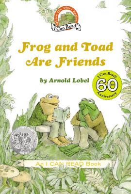 Frog and Toad Are Friends (I Can Read Level 2) Cover Image