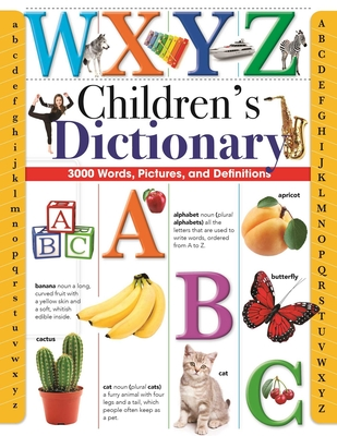Children's Dictionary: 3,000 Words, Pictures, and Definitions Cover Image