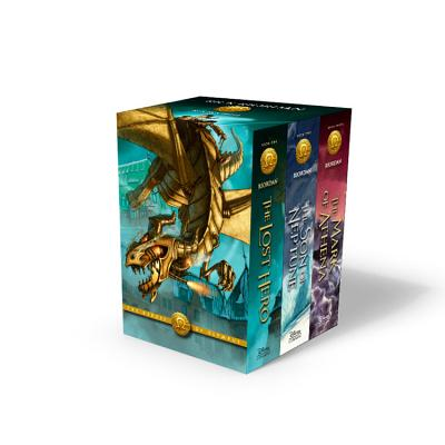 Cover for The Heroes of Olympus Paperback 3-Book Boxed Set
