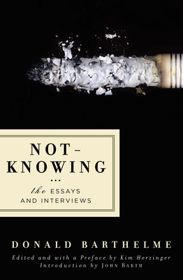 Not-Knowing Cover