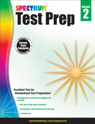 Spectrum Test Prep, Grade 2 Cover Image