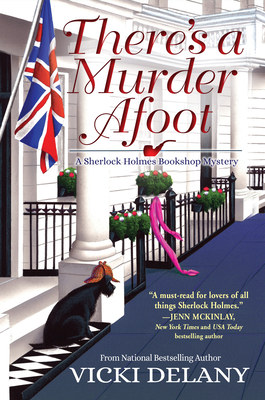 There's a Murder Afoot: A Sherlock Holmes Bookshop Mystery Cover Image
