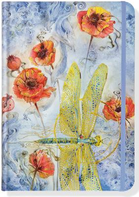 Indigo Dragonfly Journal (Diary, Notebook) Cover Image