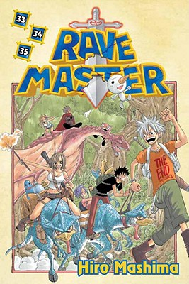 Rave Master 33/34/35 Cover