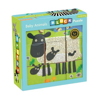 Baby Animals Block Puzzle Cover Image