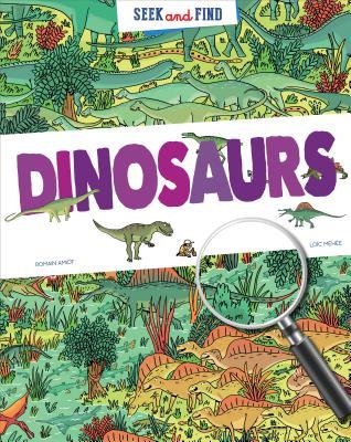 Seek & Find Dinosaurs Cover Image