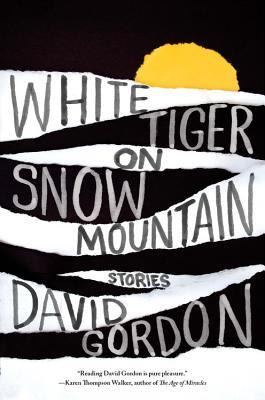 White Tiger on Snow Mountain Cover
