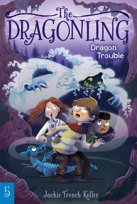 Cover for Dragon Trouble (The Dragonling #5)
