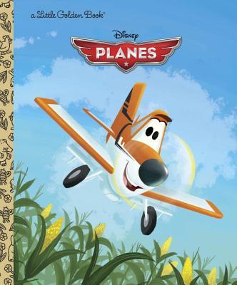 Disney Planes Little Golden Book (Disney Planes) Cover Image