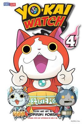 Cover for YO-KAI WATCH, Vol. 4