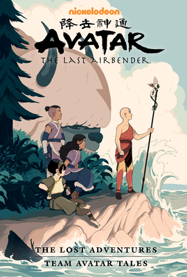 Avatar: The Last Airbender--The Lost Adventures and Team Avatar Tales Library Edition Cover Image