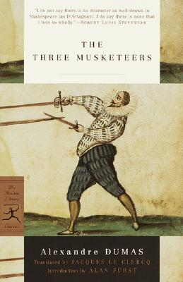 The Three Musketeers (Modern Library Classics) Cover Image