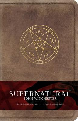 Supernatural: John Winchester Hardcover Ruled Journal (Science Fiction Fantasy) Cover Image