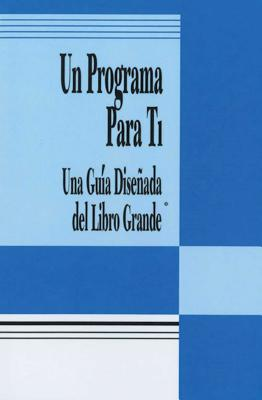 Un Programa Para Ti (A Program for You Book): Una Guia Disenada del Libro Grande Cover Image