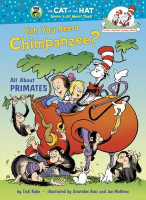 Can You See a Chimpanzee?: All about Primates Cover Image