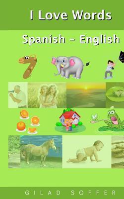 I Love Words Spanish - English Cover Image
