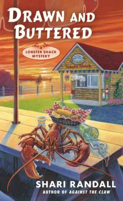 Drawn and Buttered (A Lobster Shack Mystery #3) Cover Image