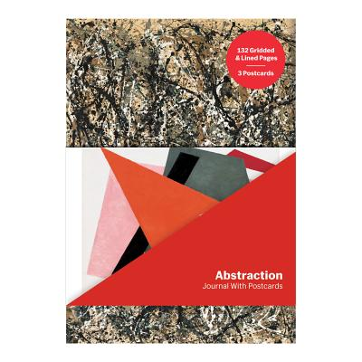 MoMA Abstraction Journal with Postcard Set Cover Image