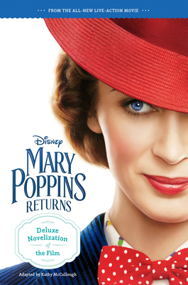 Mary Poppins Returns Deluxe Novelization Cover Image