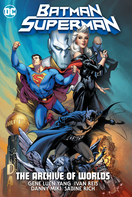 Batman/Superman: The Archive Of Worlds Cover Image