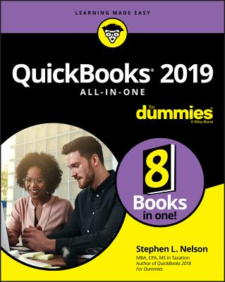 QuickBooks 2019 All-In-One for Dummies Cover Image
