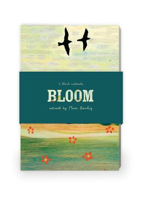 Bloom Artwork by Flora Bowley Journal Collection 1: Set of two 64-page notebooks Cover Image